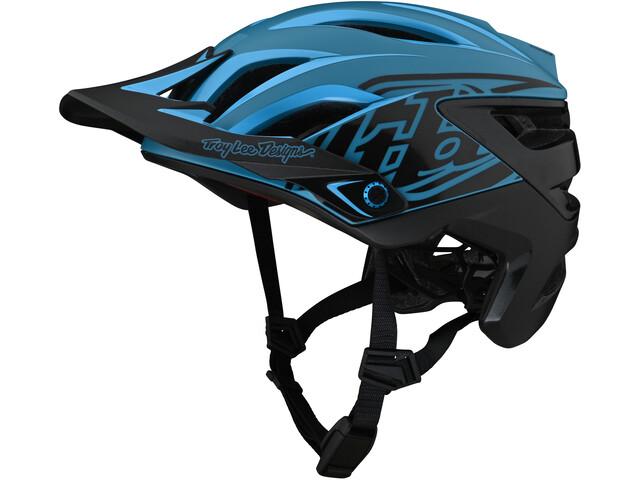 Troy Lee Designs A3 Mips Helmet uno cyan blue